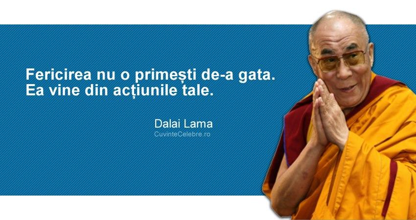 25 citate de la Dalai Lama